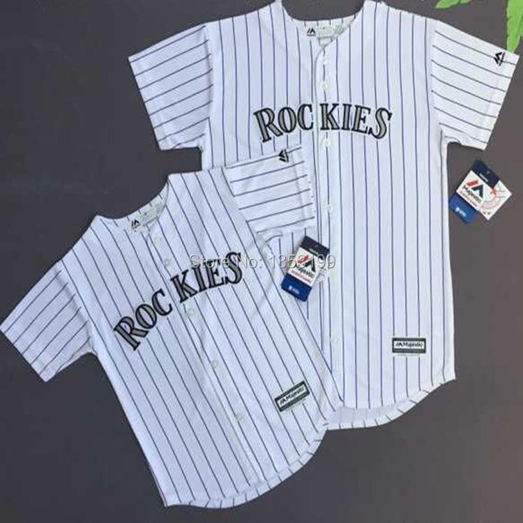 Baseball Jersey Colorado Rockies Kid and Youth Team Jersey(China (Mainland))