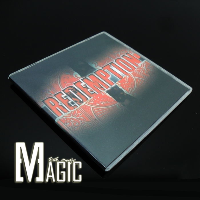 redemption ( with one Gimmick bicycle card ) by Chris Ballinger close-up stage TV-show card magic tricks products for magicians(China (Mainland))