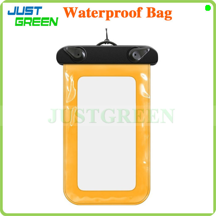 PVC Waterproof Diving Bag For Mobile Phones Underwater Pouch Case For iphone 6/6 plus/5/5s Ship with Tracking Number(China (Mainland))