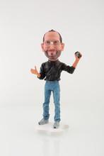 CEO Steve Jobs figure   iJobs mini  Doll   (Free shipping)(China (Mainland))