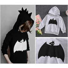 New Arrival Gray Baby Boys Hoodies Kids 3D Batman Pattern Top Hooded Sweatshirt Boys Sportswear Clothing 2-6Y(China (Mainland))