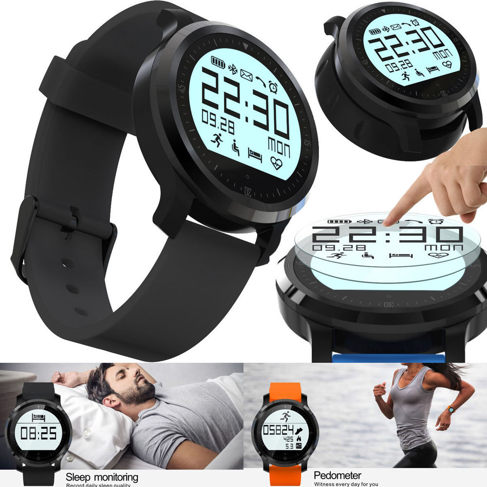 Smart Watch F68 IP67 Waterproof Support Heart Rate Tracker Bluetooth 4.0 Pedometer For iPhone Samsung smart bracelet smart hand<br><br>Aliexpress