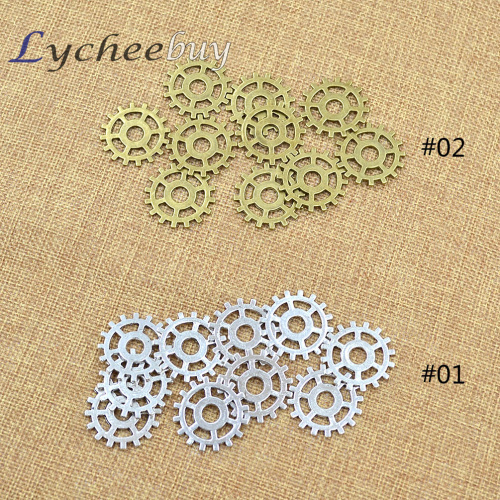 10pcs Steampunk Watch Parts Vintage Pieces Gears Cogs Wheels Punk Craft Arts 25mm(China (Mainland))