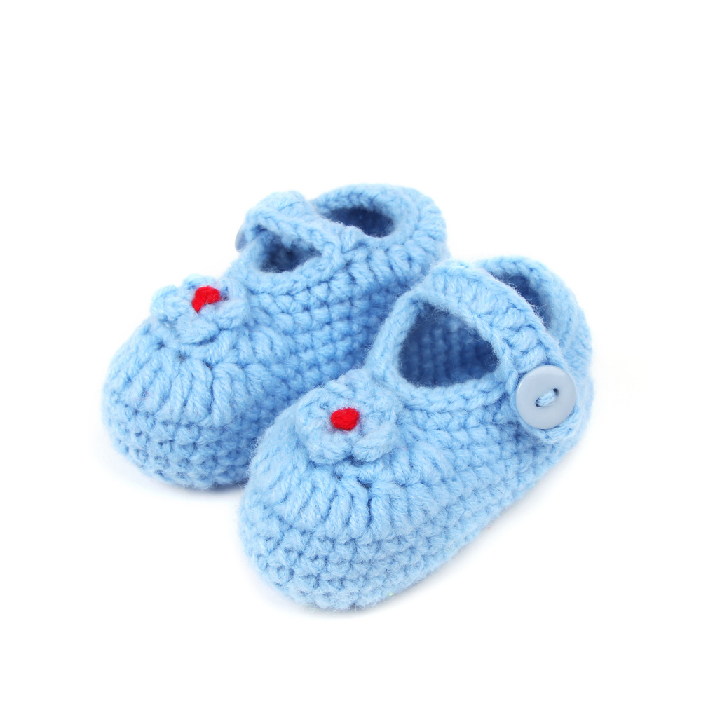 chaussure enfant bow baby socks TipsieToes Baby Shoes hand infant knitted shoes minion Toddler Girl Boy Wool vestidos ROH1052-1(China (Mainland))