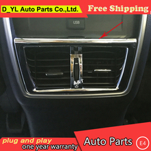 Buy car styling Nissan Murano 2015-2016 model high chrome Rear air outlet decorative frame abs cover trim 1 pcs for $13.11 in AliExpress store