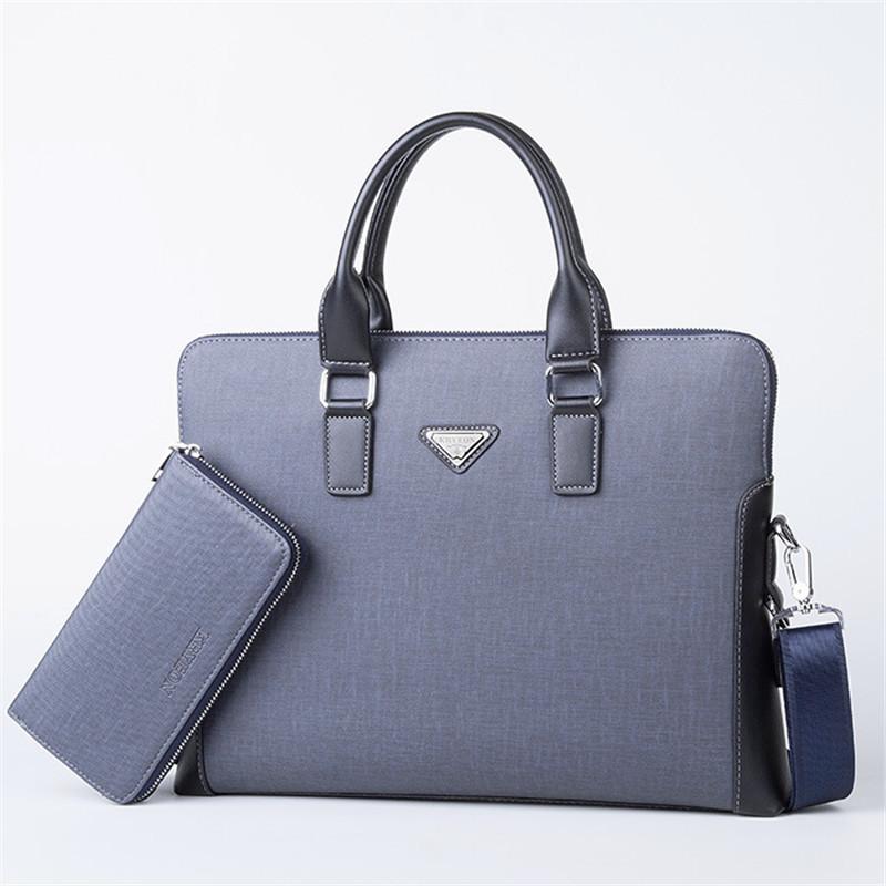 2016 hot sell new fashion luxury designer pu leather men handbag bag,classic men's briefcase,large brand men messenger bags(China (Mainland))