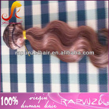 Top quality highlight color body wave Eurasian hair extension