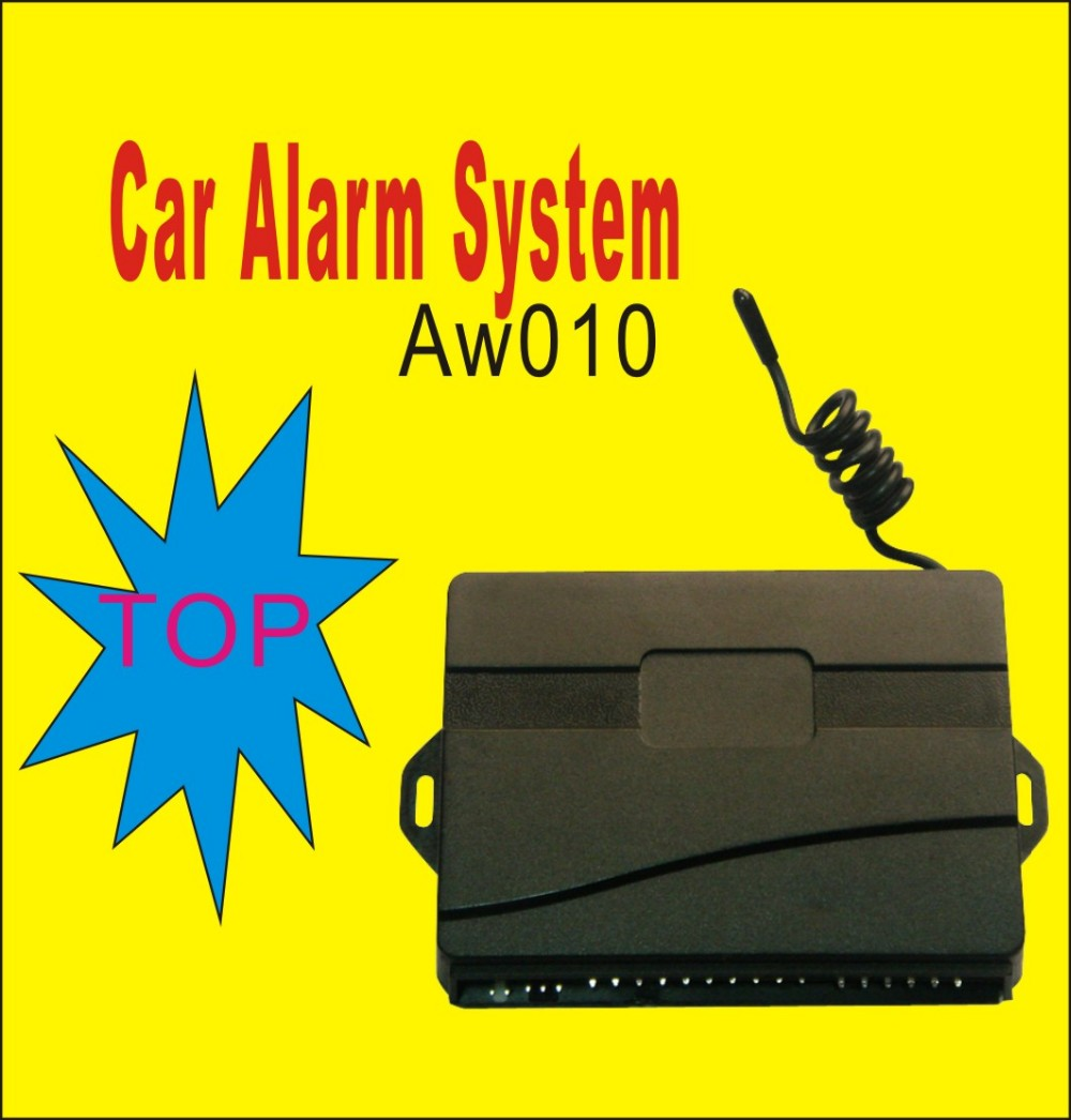 Anti-hijacking One Way Car Alarm System, Made In China,Hot Sale And High Quality