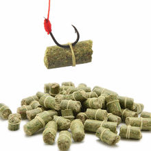 1 Bag Different Length Green/Red Carp Smell Lure Red Grass Carp Baits Fishing Baits Different Length Fishing Lures(China (Mainland))