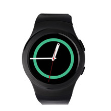 E-top NO.1 G3 MTK2502C Bluetooth Smartwatch Full Circular SIM IP67 waterproof heart rate monitor smart watch for IOS Android