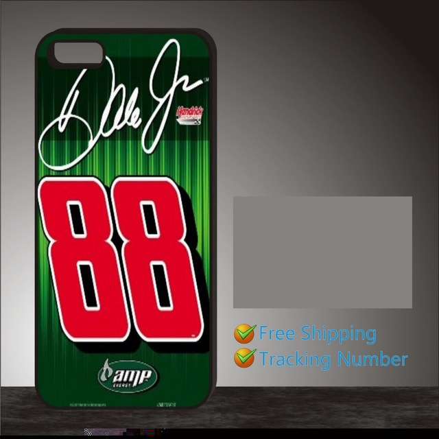 Nascar Dale Earnhardt Jr New cellphone case cover for 5 5s 6 6 plus Samsung galaxy S3 S4 S5 S6 edge Note 2 3 4(China (Mainland))
