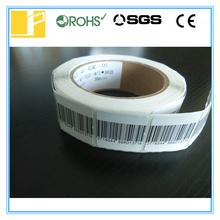 3*3 white and barcode rf label(China (Mainland))