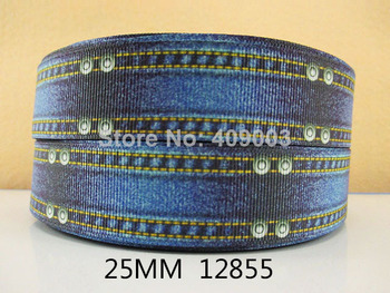 "10Y12855 kerry ribbon free shipping 1"" printed Grosgrain ribbon DIY headwear ribbon and bow garment accessories"