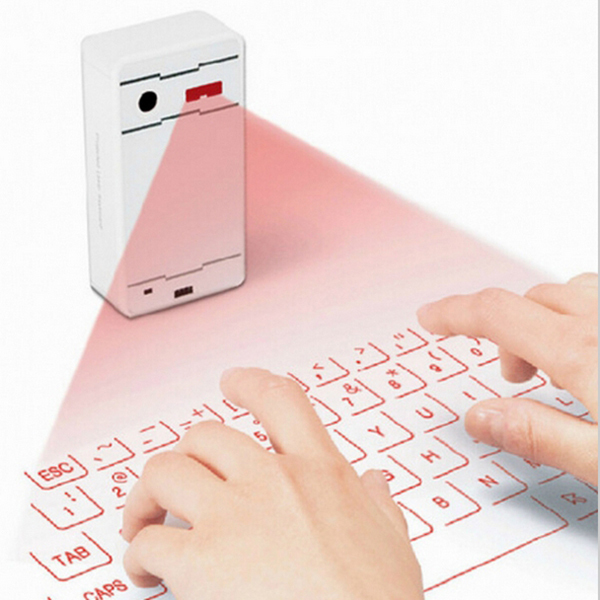 Portable Mini Wireless Bluetooth Virtual Laser Keyboard Projection Keyboard For pad phone Computer Tablet(China (Mainland))
