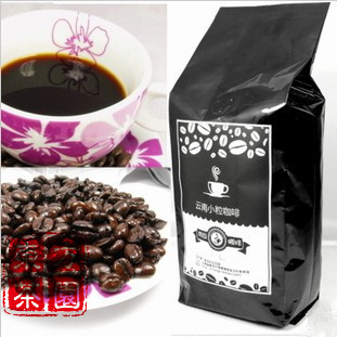 Free Shipping Deep Baked Cooked Beans Slimming Coffee Beans French Style Yunnan Small Grain Order Fresh