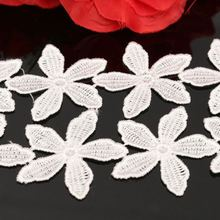Flower Pattern Embroidered Lace Ed-ge Trim