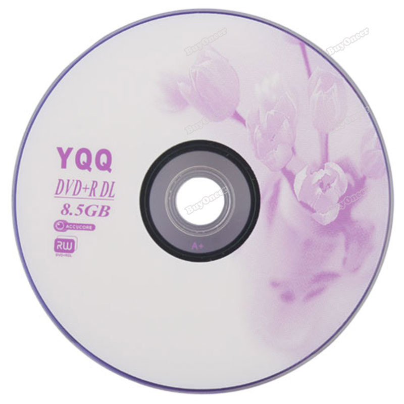 buyoneer lovely 5Pcs New 8X Blank Recordable Printable DVD+R DVDR Blank Disc Disk 8X Media 8.5GB Most popular(China (Mainland))