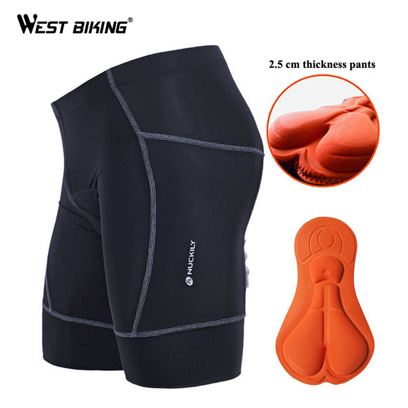 2.5cm Thicken Silicon Gel Padded Ultra-breathable Running Riding Pro MTB Bicycle Bike Team Sports Shorts Outdoor Sport Shorts<br><br>Aliexpress