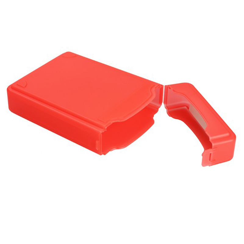 3.5Inch Full Case Protector Storage Box for Hard Drive IDE SATA Compact 16*10.5*3.5mm size vivid color design(China (Mainland))