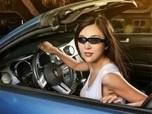 New Hot High Quality Smart Glasses Black 2GB Sunglass Sun Glass Sports Headset MP3 WMA Player 50SJM(China (Mainland))