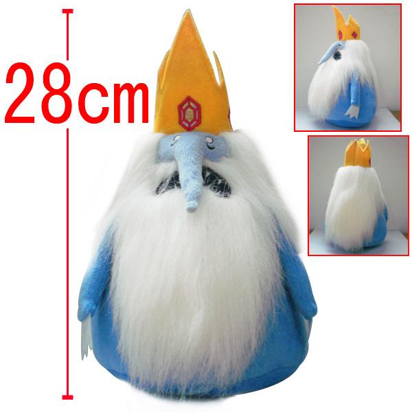 Adventure Time Toy The Ice King Plush Doll Stuffed Animal Plush Toy Cartoon Toys For Children(China (Mainland))