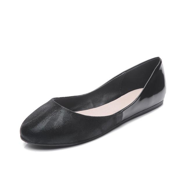 2016 балет женщины плоские туфли женщина внутренний материал из натуральной кожи ...