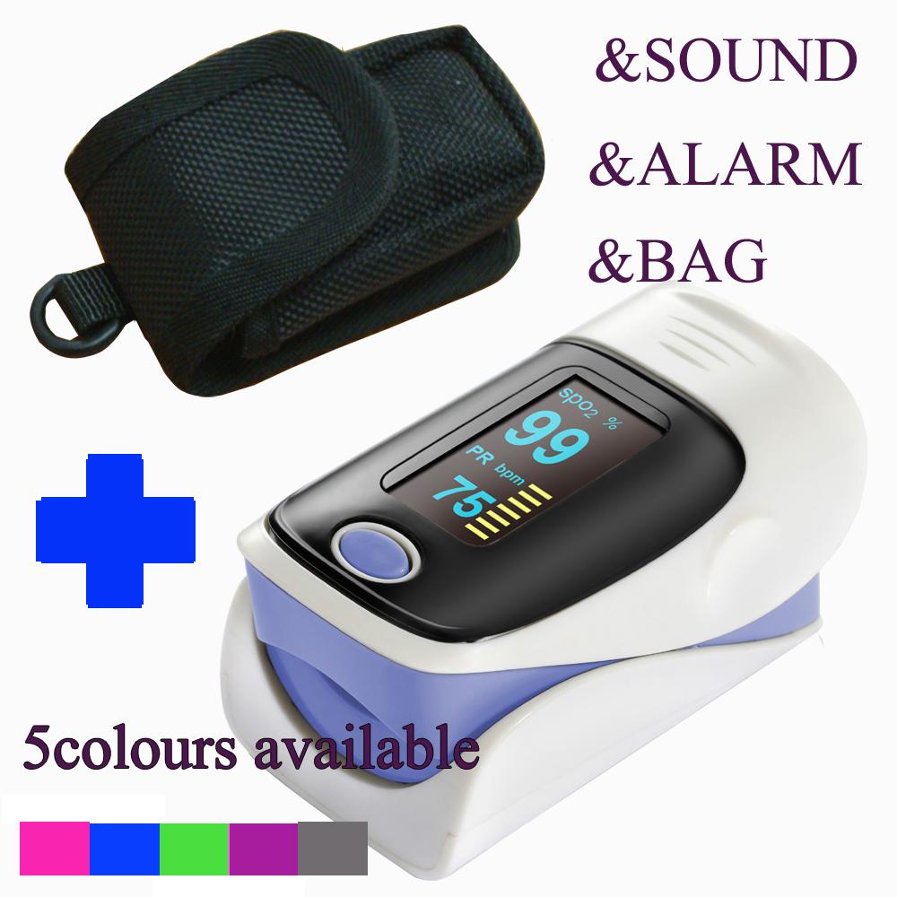 Гаджет  Sale Free shipping CE FDA Fingertip Pulse Oximeter OLED screen Blood Oxygen SPO2 saturation oximetro monitor with packet None Красота и здоровье