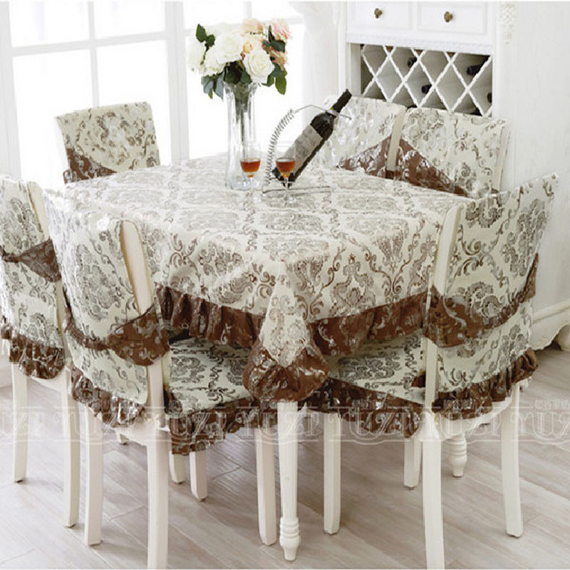 dining table and chair cover set