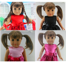 Buy New Hot Handmade 18 Inches American Girl Doll Clothes Dress Christmas Special Birthday Gift Dress 4pcs Mixed AG367 for $19.00 in AliExpress store