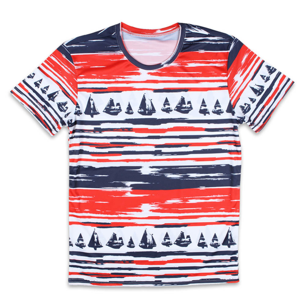 Large Size Fashion Design Pictur T Shirts Men Round Neck Breathable Mens Tops 3d Floral Man t shirt Euro Size Short sleeve Tees(China (Mainland))