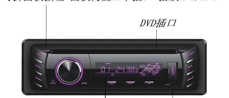 Automotive D-grade CD player car D machine card U disk player 4 Artifact(China (Mainland))