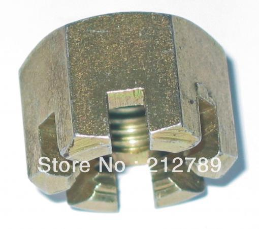 universal castle nut/slotted nu M12X1.25,M10X1.25, M14X1.5 for Chinese atvs/quads/buggies/utv/scooter/motorcycle