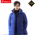 2016 Toread Softshell Jacket Gore Tex Men Hiking Hooded Jacket Waterproof Windproof Jacket Outdoor Hiking Camping