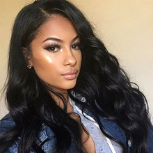 """8A Full Lace Human Hair Wigs For Black Women 12-24""""Body Wave Lace Front Human Hair Wigs 250% Density Human Hair Lace Frontal Wig(China (Mainland))"""