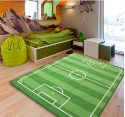 Free shipping baby floor mat hot selling world cup carpet for Kids room carpet