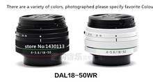 New DAL DAL18-50mm F4-5.6 DC WR RE zoom lens For Pentax Kx Kr Km K10D K20D K100D K200D K-30 K-50 K-3 K-3II K-S1 K-S2 SLR camera(China (Mainland))