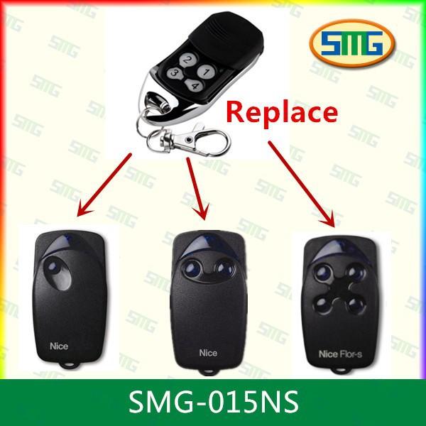 SMG-015NS Nice Flors gate garage door opener remote control<br><br>Aliexpress