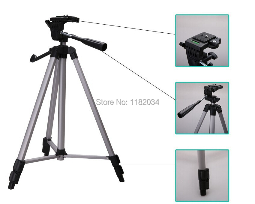 Weifeng wt-330a tripod for 550d 600d d90 d5100 lightweight digital dslr camera with tripod head quick release plate storage bag(China (Mainland))