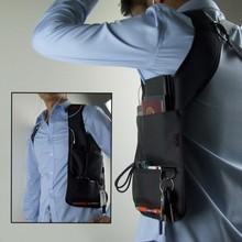 Fashion cool Men Agent storage Bags Armpit Waist Messenger Shoulder Crossbody MP3 Phone Key Purse Travel Camping Riding Bags