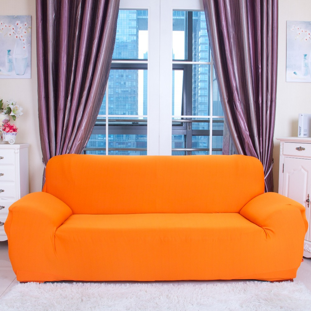 2-Seat Knit Sofa Cover Spandex Fabric Sectional Couch Covers Loveseat Sofa Slipcover 1 Shaped Sofa Cover Colorful Sofa Covers(China (Mainland))