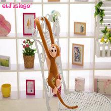 60 Kawaii cinco CENTÍMETROS Braço Longo Macaco de Cauda Cortinas Bebê Dormir Apaziguar Boneca de Pelúcia Brinquedos de Pelúcia Animais Boneca Presentes de Aniversário(China)
