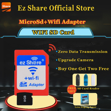 Buy Free ez Share Micro SD Adapter Wifi Wireless 8G 16G 32G Class 10 Memory Card TF MicroSD Adapter WiFi Cartao de memoria for $23.39 in AliExpress store