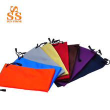 20pcs/Lot Waterproof Colourful Ornaments Sunglasses Glasses Pouch Soft Bag,Mobile Phone Headset Key Packet  Mixed,Wholesale G292
