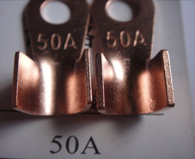 OT-50A copper lugs / copper open your mouth and nose / wire connectors // 500 / bag<br><br>Aliexpress