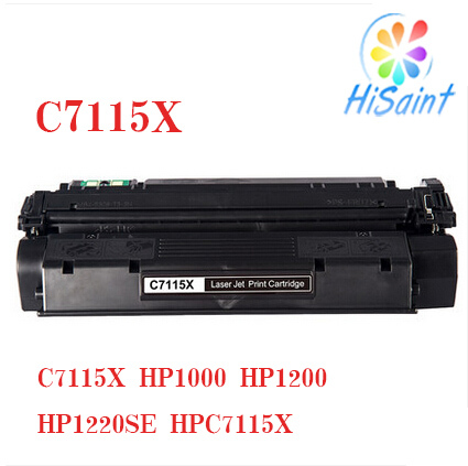 Toner Cartridge compatible HP C7115X for HP LaserJet 1000/1005/1200/1220/3300/3310/3320/3380 Canon LBP 1210(China (Mainland))