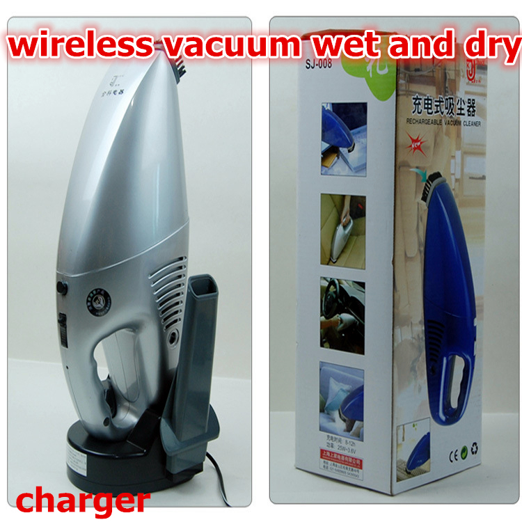 Free Shipping charge 12v vacuum wet and dry Portable Mini Handheld home vacuum cleaner cordless super wireless car vacuum(China (Mainland))