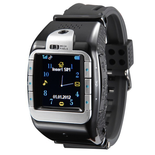 New Smart Watch Phone N388 N388 Pro 1.4 Inch Touch Screen 1.3MP Camera Quad Band SIM Card Slot Bluetooth Mobile Phone(China (Mainland))