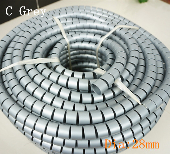 Dia. 28 mm Plastic Office /Home Cable Winders Wire Management Distributor Hardware Accessories(China (Mainland))