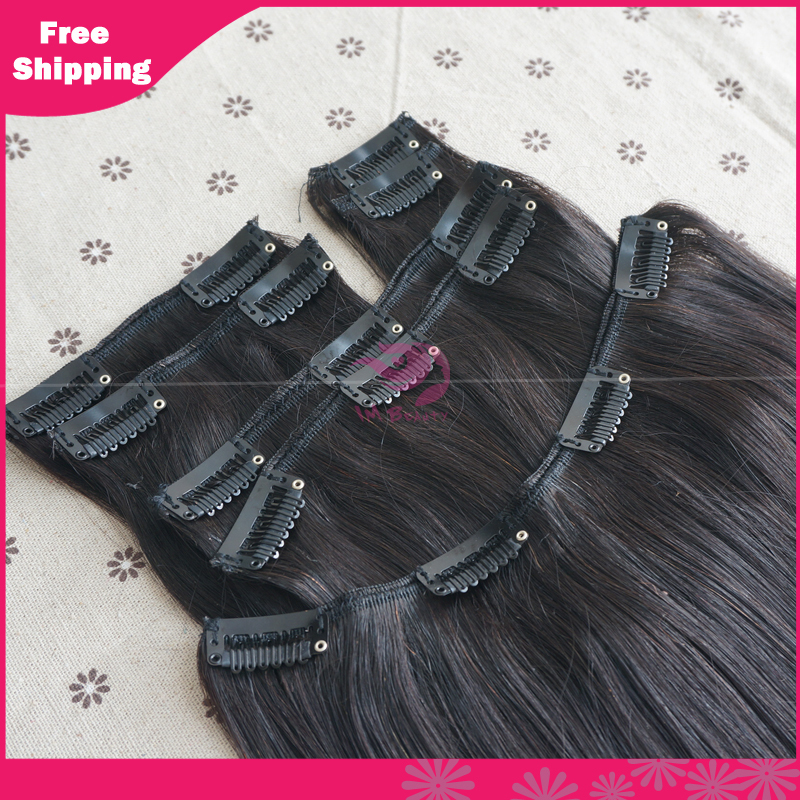 Real Human Hair Clip In Extensions Cheap 77
