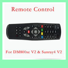 2016 New Hot Black Multi-Functional DM800se V2 Remote Control For DM800HD SE V2 & Sunray4 V2 Satellite Cable Receiver